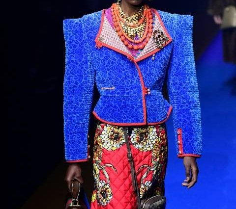 ac1030a9 Black Models to look out for at the 2018 New York, London, Milan, and Paris  Fashion Weeks; Gucci, Zuhair Murad, Arora Manish