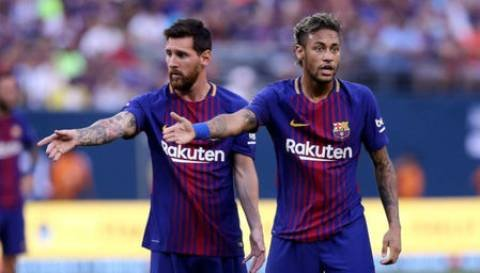 e66aed8ac We would love Neymar back – Messi