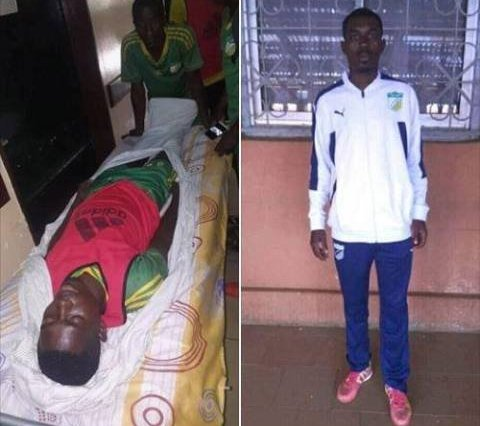 af37a0c66 Shocking  Young Footballer Collapses And Dies 10 Minutes Into Training  Session (Photo)